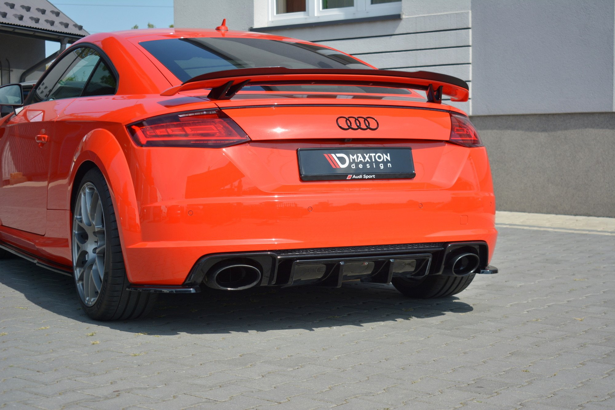 Dokładka Tylna Audi TT RS 8S   Nasza Oferta  Audi  TT ...