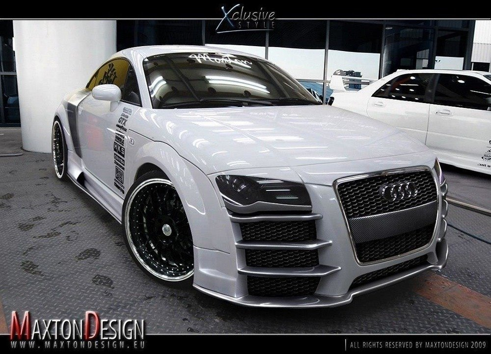 Brewki Audi TT 8N < R8 Look > do zderzaka R8 Look